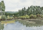 Canoe on Panther Pond, Maine 2004 - Laura Heim