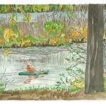 Fall on Panther Pond 2012 - Laura Heim