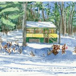 On Raymond Pond Winter 2010 - Laura Heim