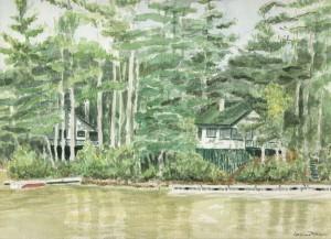 Plummerville Cabins, Maine 2002 - Laura Heim