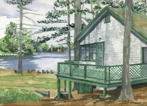 Plummerville Cabin, Maine 2005 - Laura Heim