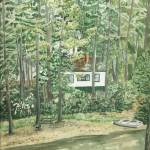 Plummerville Cabin, Maine 2003 - Laura Heim