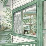 Plummerville Porch, Maine 2003 - Laura Heim