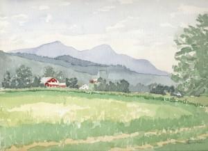 Vermont Barn 2002 - Laura Heim
