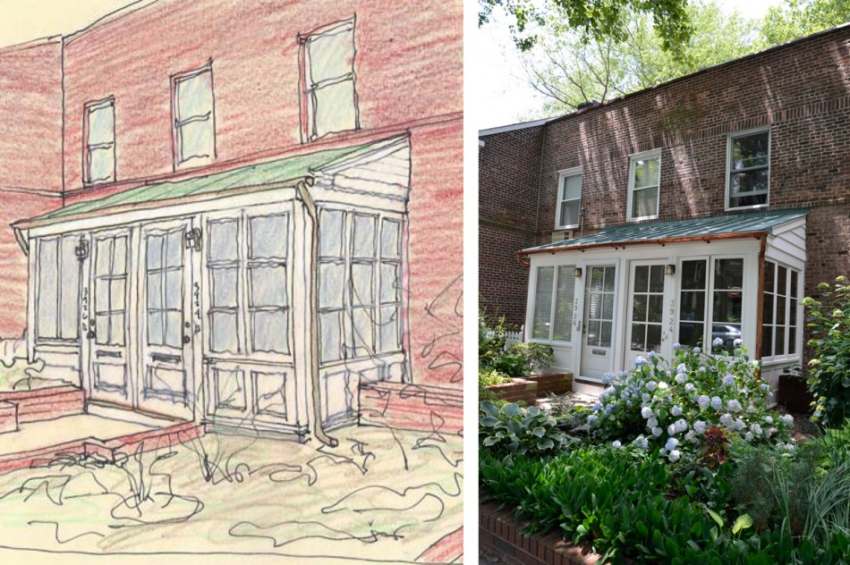 Sunnyside Porches - Laura Heim Architect
