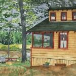 Panther Pond Bog House, Maine 2005