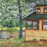 Panther Pond Bog House, Maine 2005 - Laura Heim