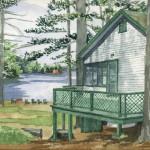 Plummerville Cabin, Maine 2005