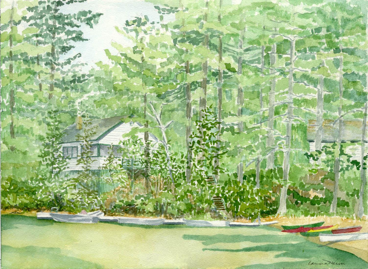Plummerville Cabins 2006 - Laura Heim