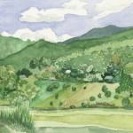 Vermont Hillside 2004